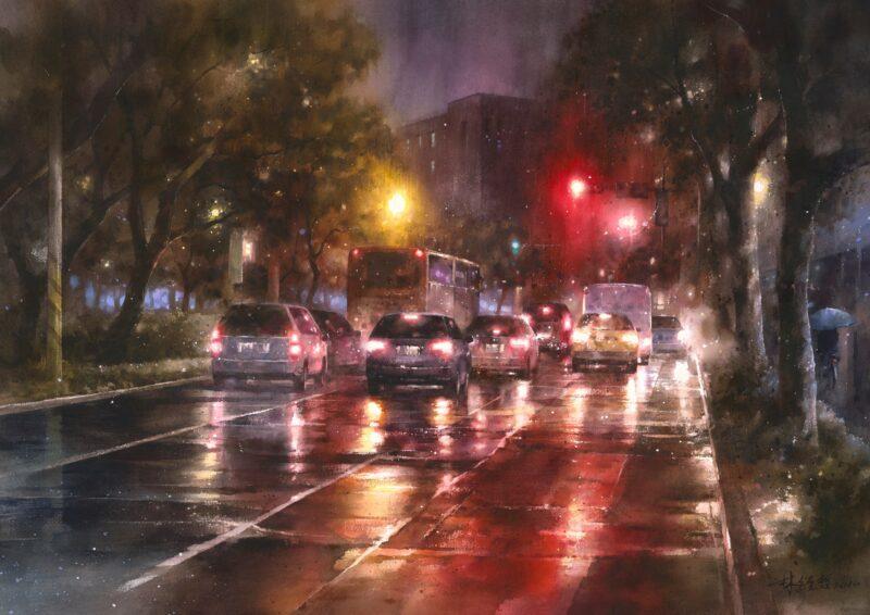 Lin Ching Che ( 林經哲 ) Painting @ TheGallerist.art