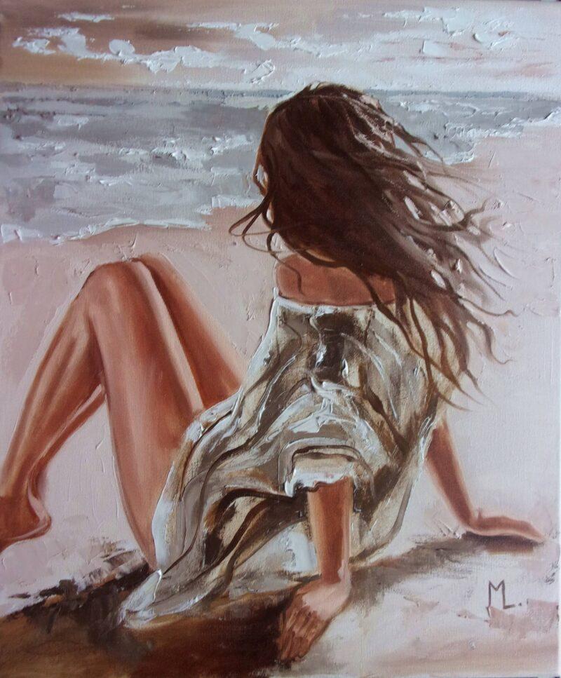 Monika Luniak Painting @ TheGallerist.art