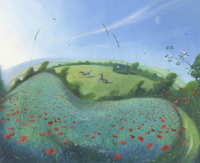Nicholas Hely Hutchinson Painting @ TheGallerist.art