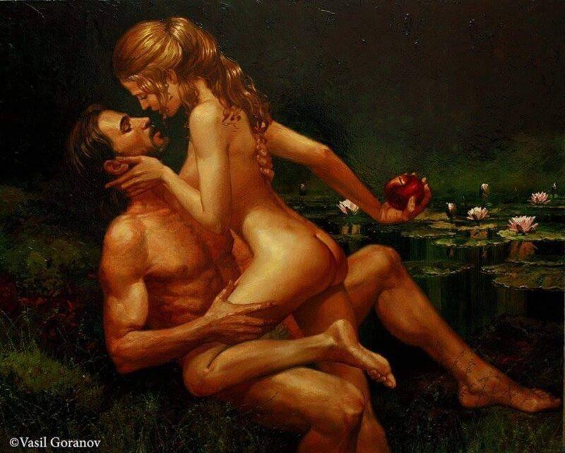 Vasil Goranov Painting @ TheGallerist.art