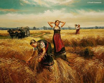 Vasil Goranov painting