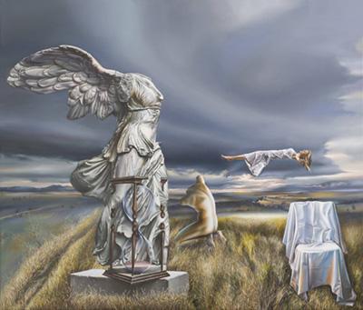 Victor Hagea surrealism painting