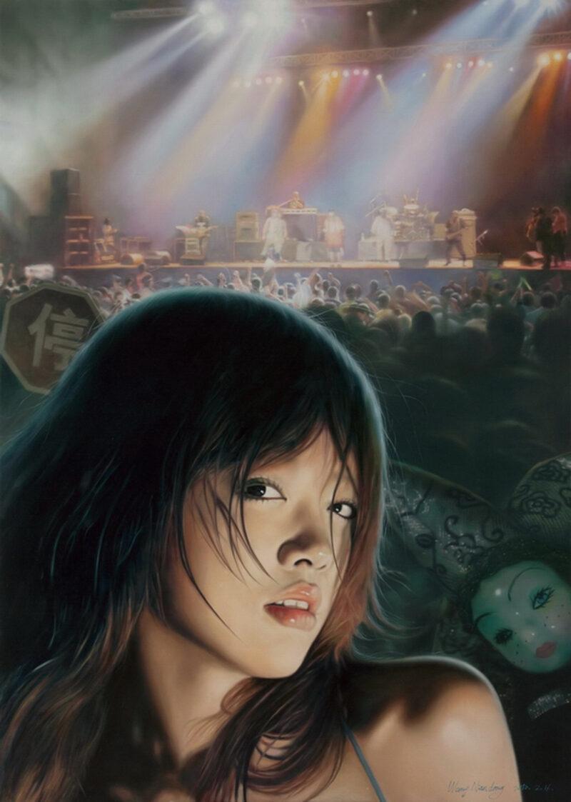 Wang Niandong ( 王念东 ) Painting @ TheGallerist.art