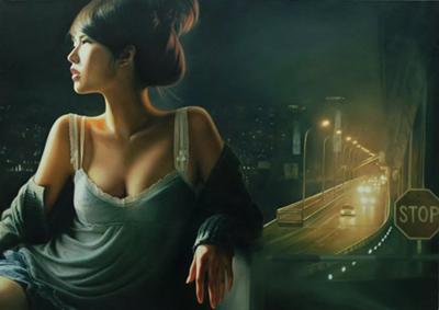 Wang Niandong painting
