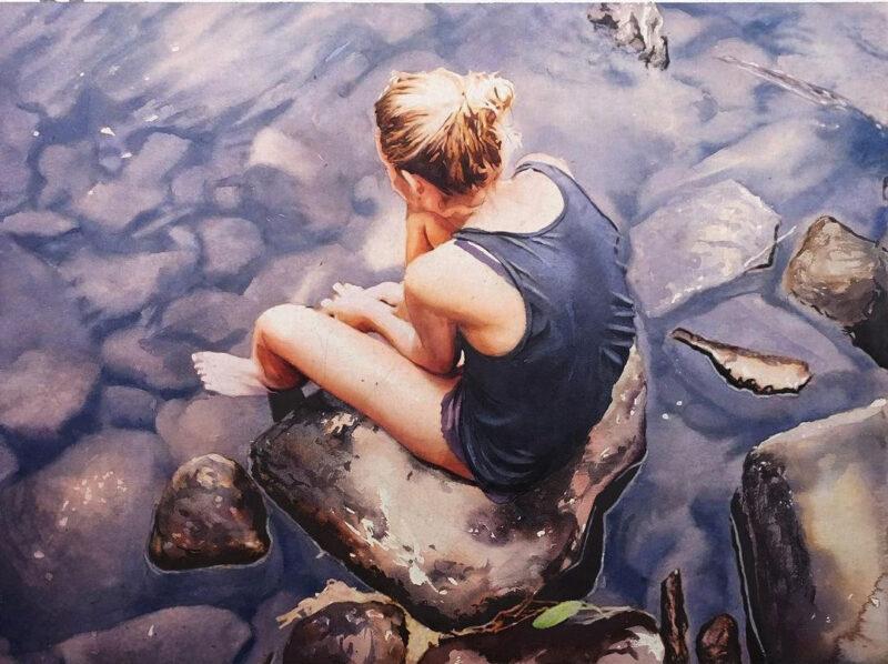 Marcos Beccari Painting @ TheGallerist.art