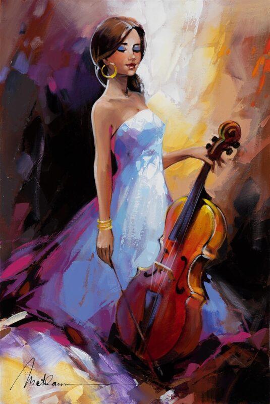 Anatoly Metlan Painting @ TheGallerist.art