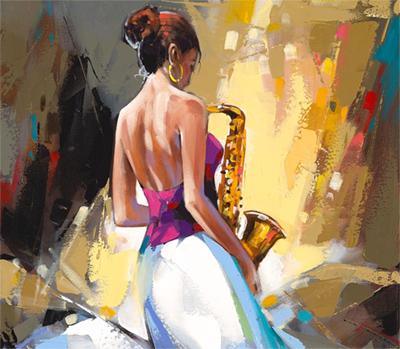 Anatoly Metlan painting