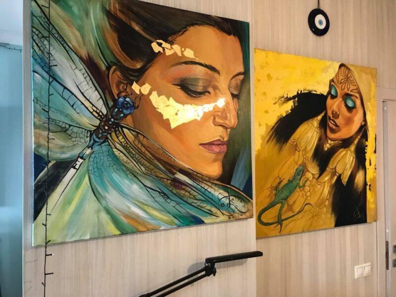 Galla Abdel Fattah Exhibition @ TheGallerist.art