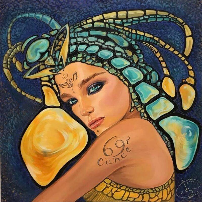 Galla Abdel Fattah Painting @ TheGallerist.art