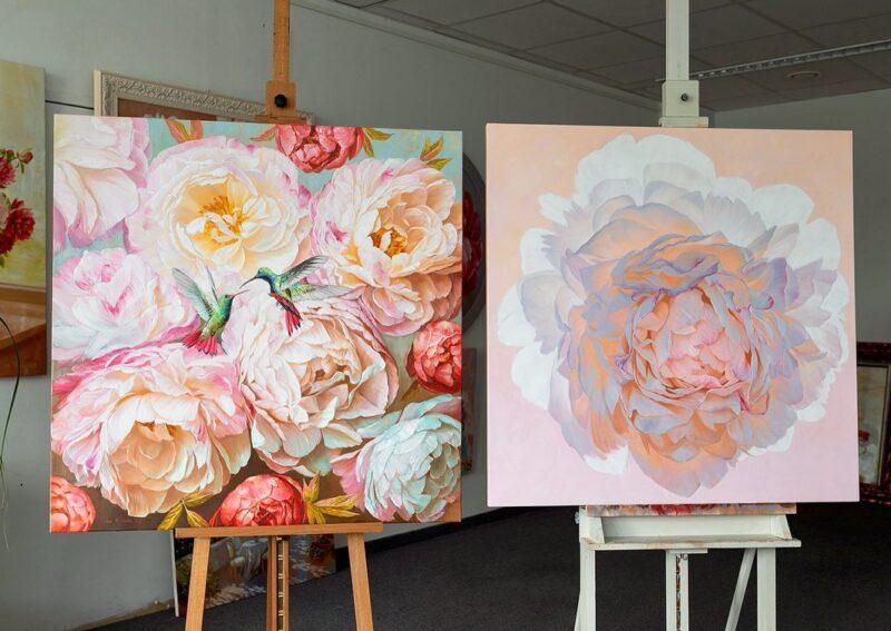 Ira Volkova Painting @ TheGallerist.art