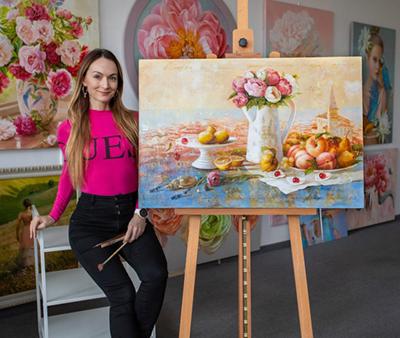 Ira Volkova painting