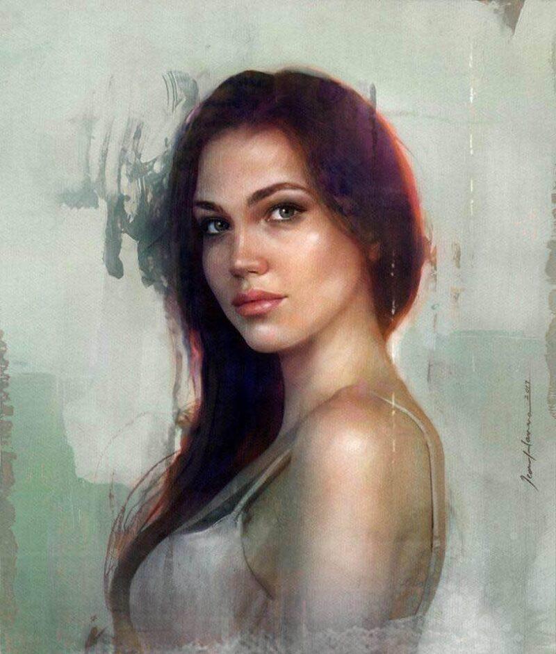 Jean Hanna Painting @ TheGallerist.art