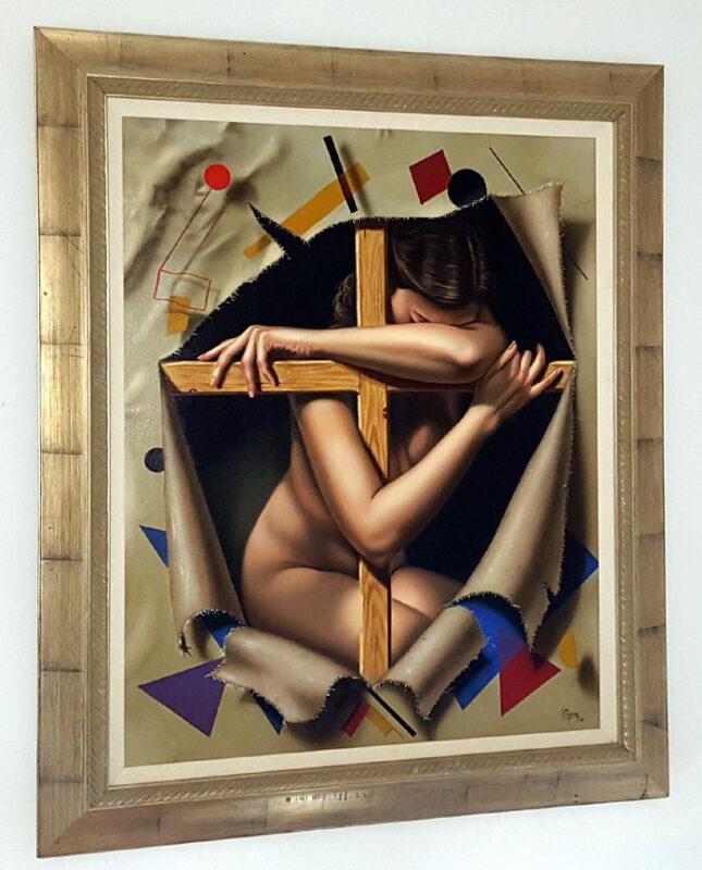 Juan Medina Painting @ TheGallerist.art