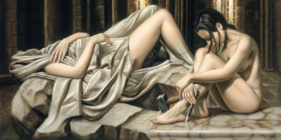 Juan Medina Painting