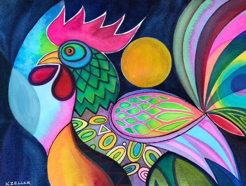 Karin Zeller Painting @ TheGallerist.art