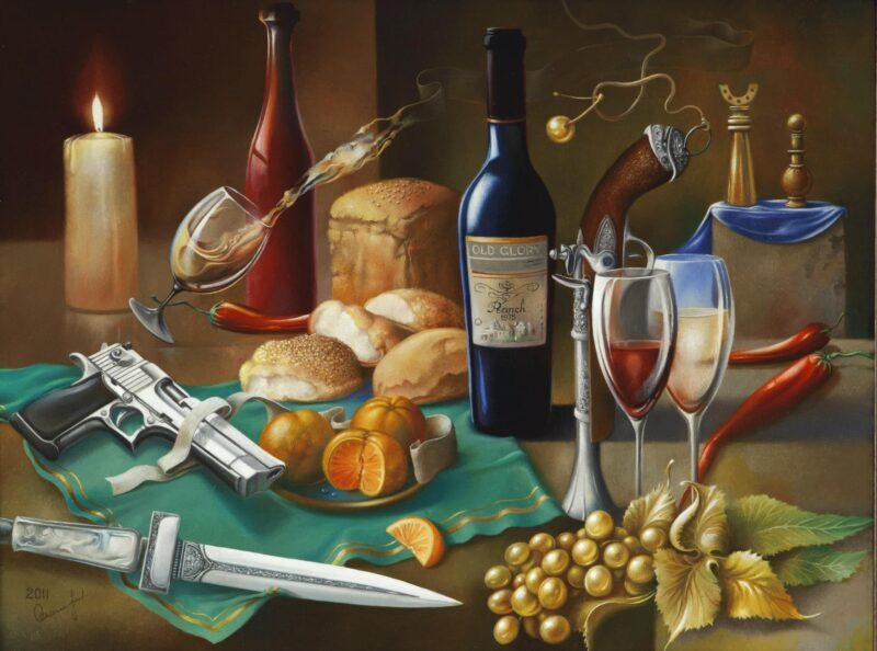Oleg Osipoff Painting @ TheGallerist.art