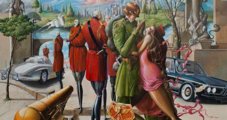 Oleg Osipoff painting