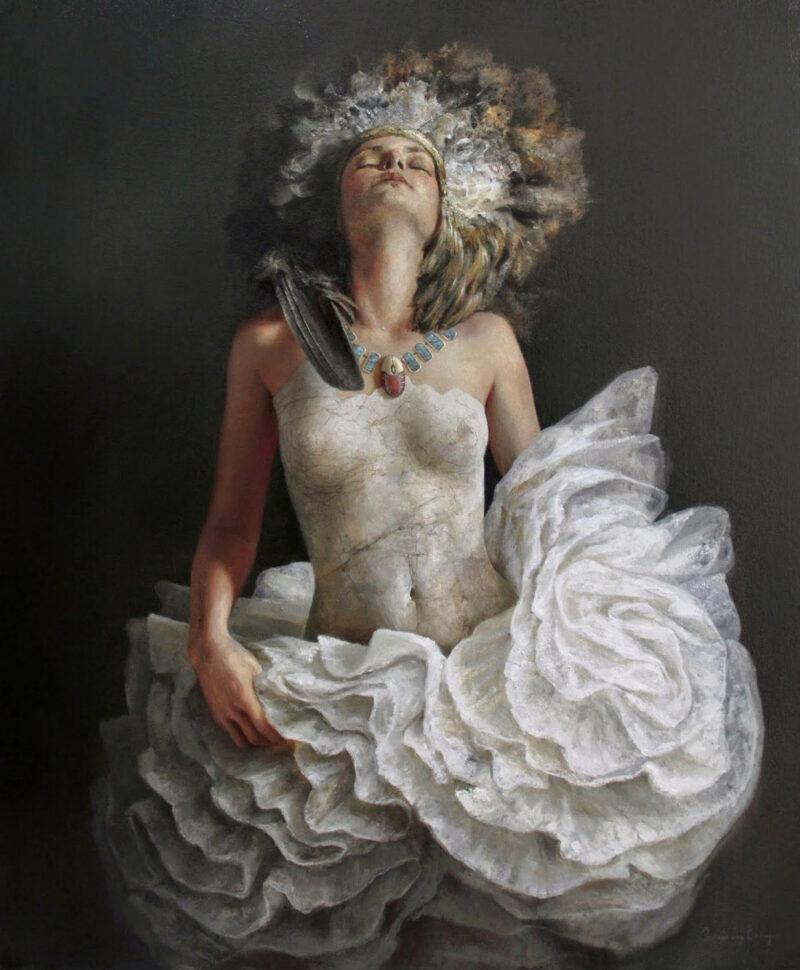 Ricardo Fernández Ortega Painting @ TheGallerist.art