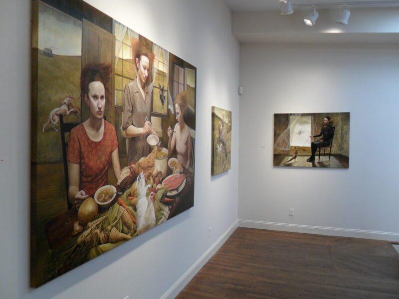 Andrea Kowch Exhibition @ TheGallerist.art