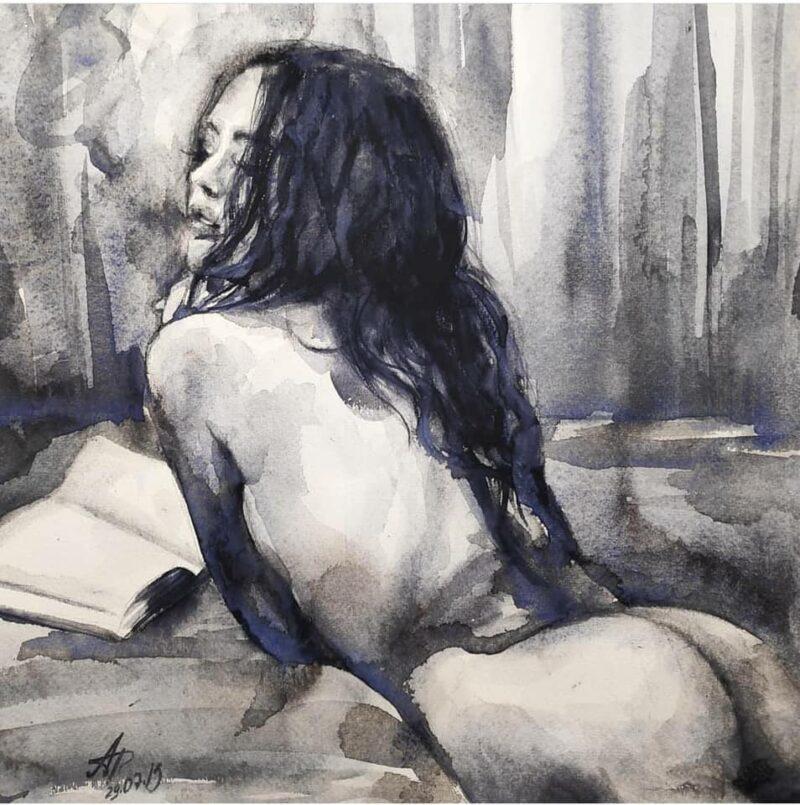Anna Dart Painting @ TheGallerist.art