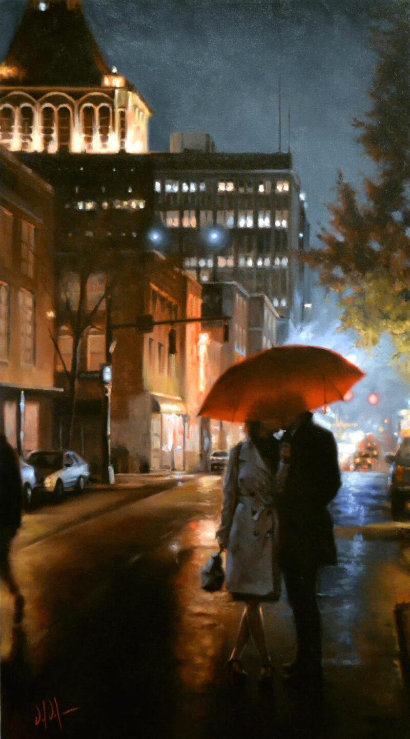 Daniel Del Orfano Painting @ TheGallerist.art