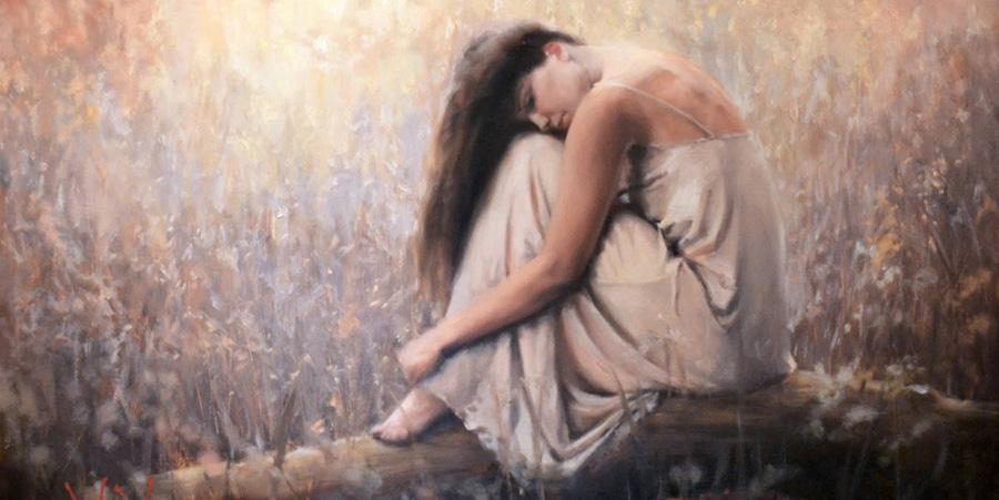 Daniel Del Orfano painting