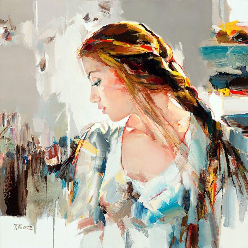 Josef Kote Painting @ TheGallerist.art