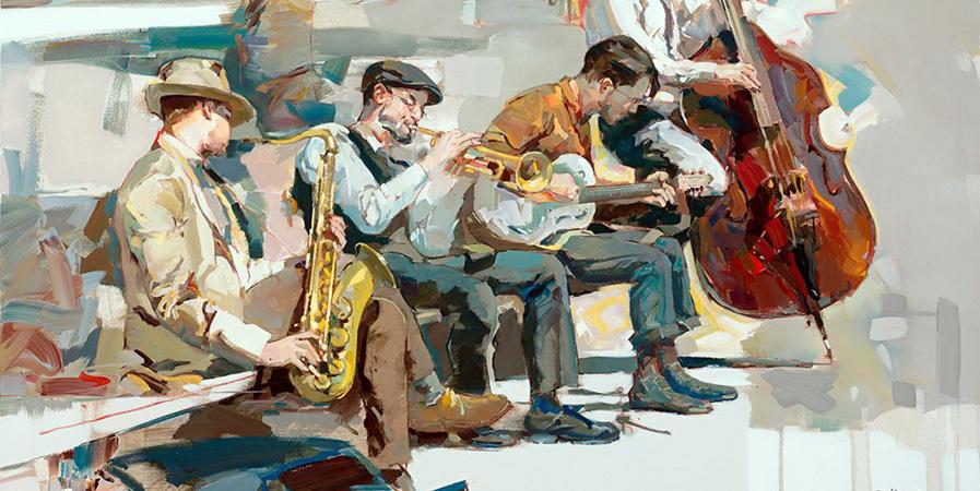 Josef Kote Painting