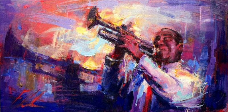 Michael Flohr Painting @ TheGallerist.art