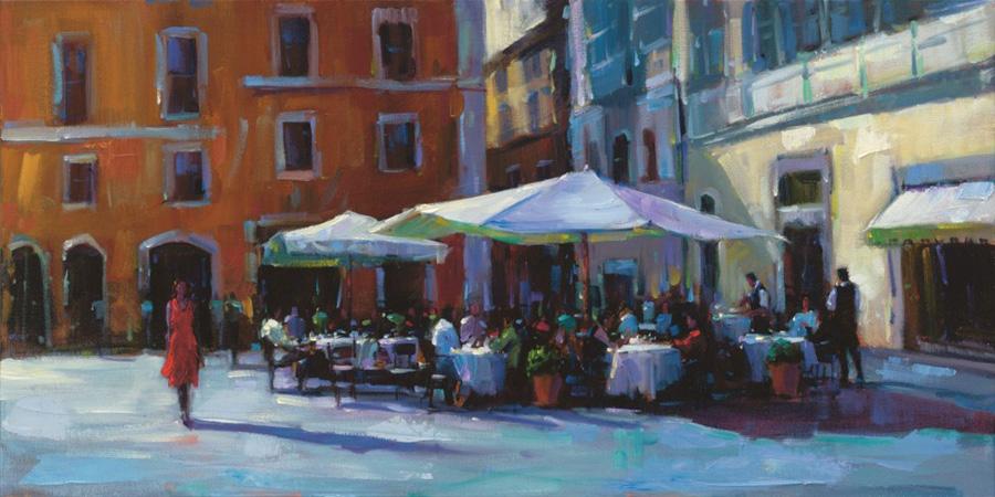 Michael Flohr painting