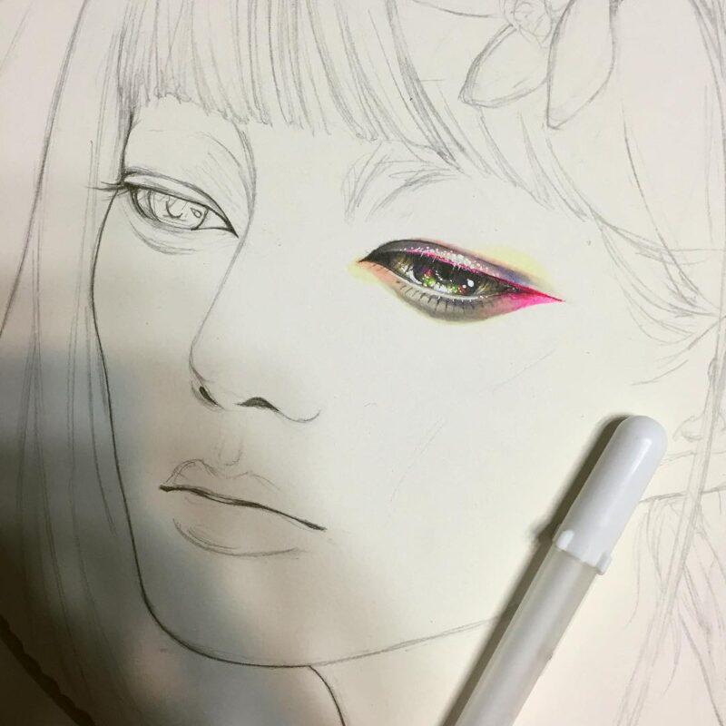 Minjae Lee Drawing @ TheGallerist.art