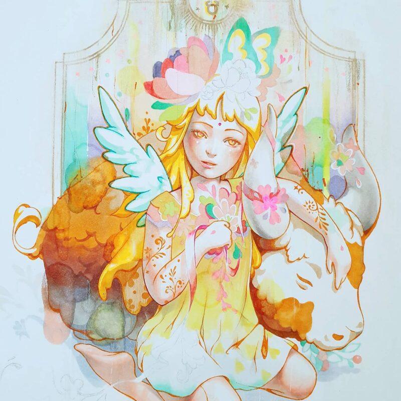 Minjae Lee Painting @ TheGallerist.art