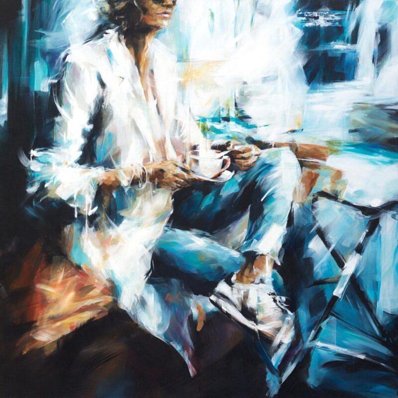 Murielle Vanhove Painting @ TheGallerist.art