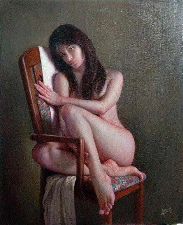 Renso Castaneda Painting @ TheGallerist.art