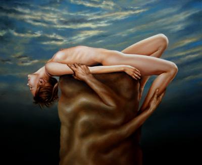 Renso Castaneda painting