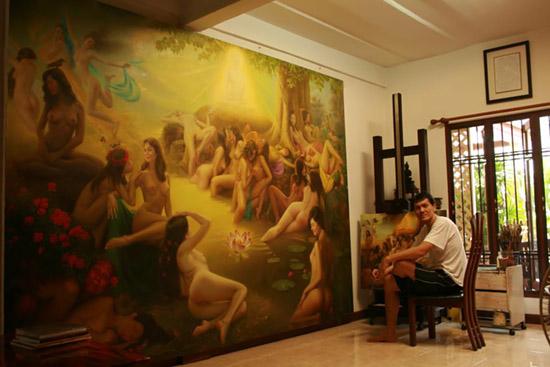 Watchara Klakhakhai Painting
