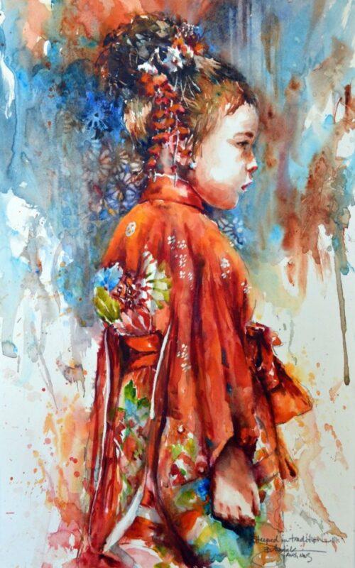 Bev Jozwiak Watercolor Painting @ TheGallerist.art