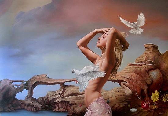 Dragan Ilic Di Vogo Surrealism Painting