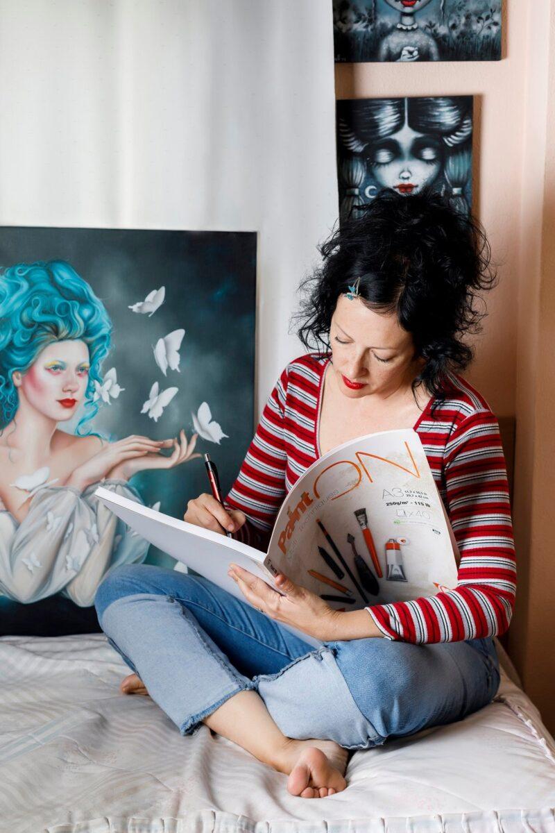 Evita Medina Painter @ TheGallerist.art