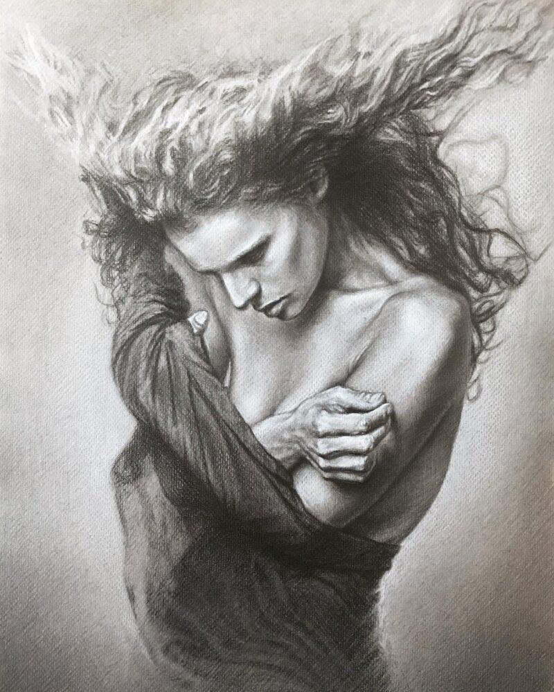 Lilia Vovk Drawing @ TheGallerist.art