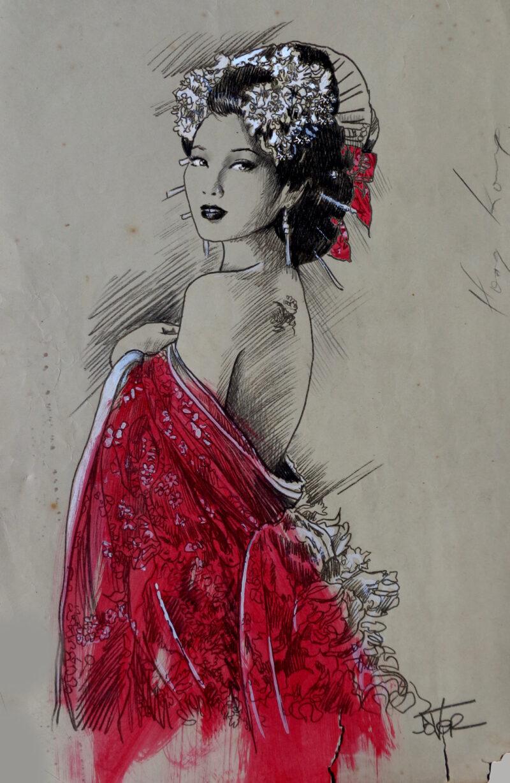 Loui Jover Painting @ TheGallerist.art