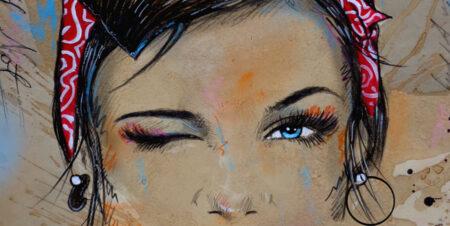 Loui Jover painting