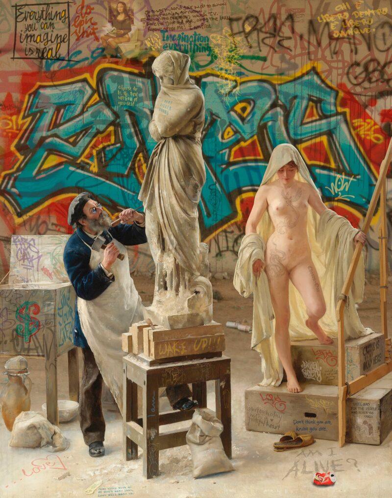 Marco Battaglini Painting @ TheGallerist.art