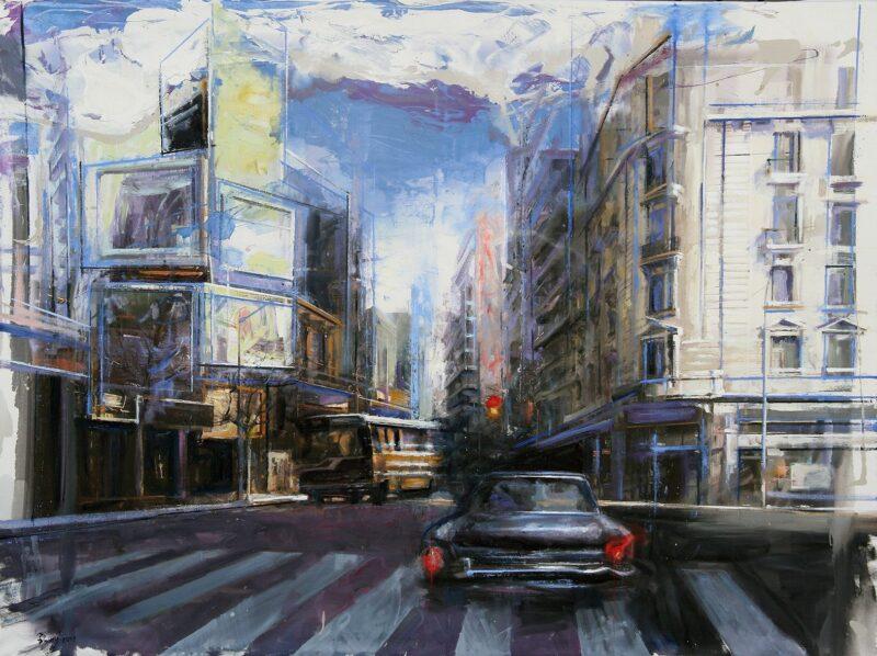 Martín Riwnyj Painting @ TheGallerist.art