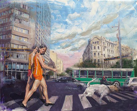 Martín Riwnyj Painting