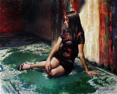 Matt Abraxas painting