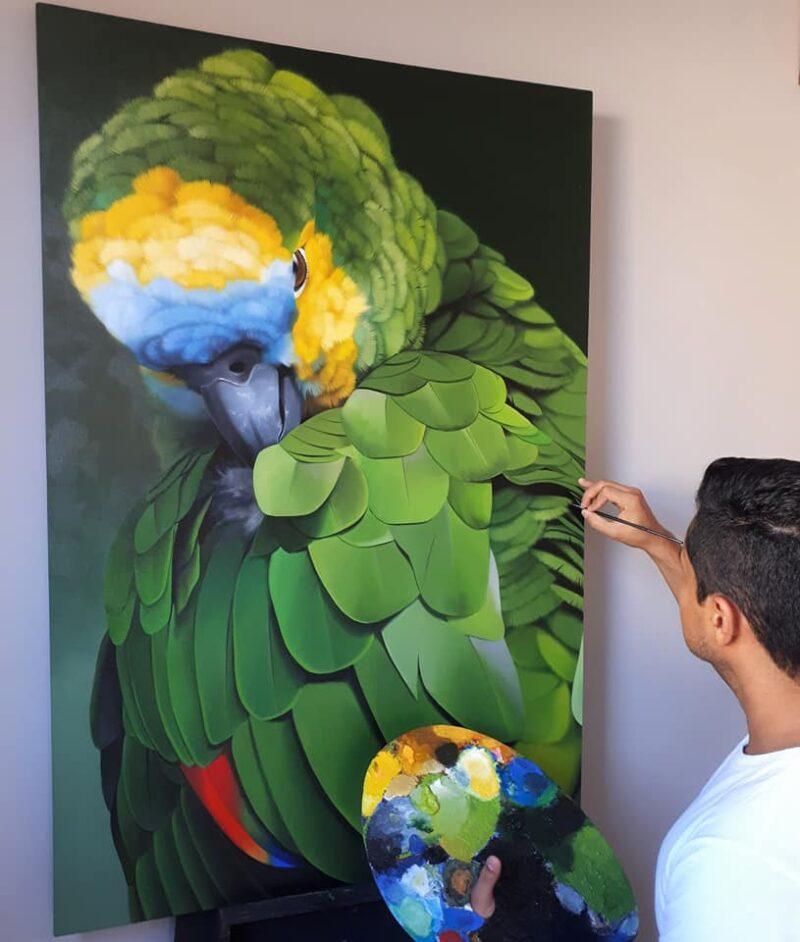 Petterson Silva Painting @ TheGallerist.art