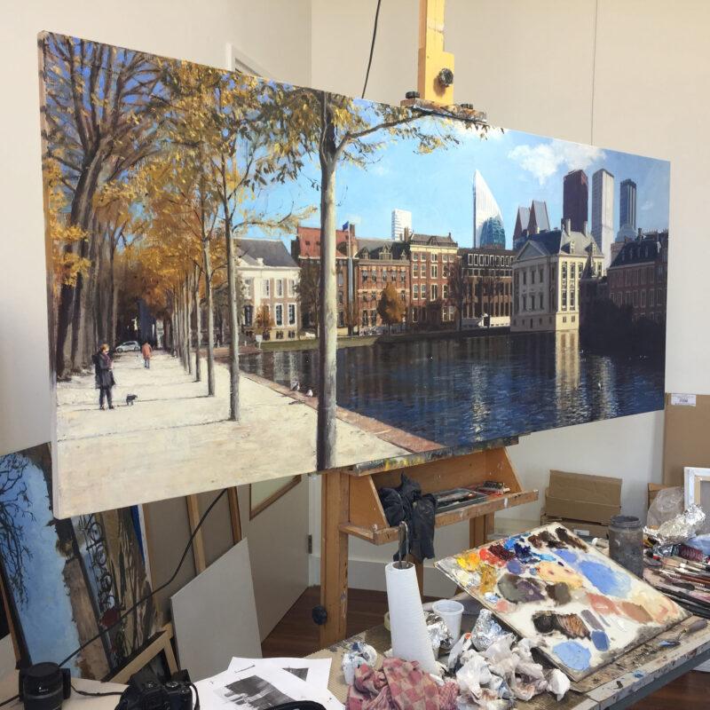 Richard van Mensvoort Painting @ TheGallerist.art