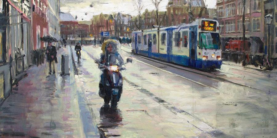 Richard van Mensvoort painting