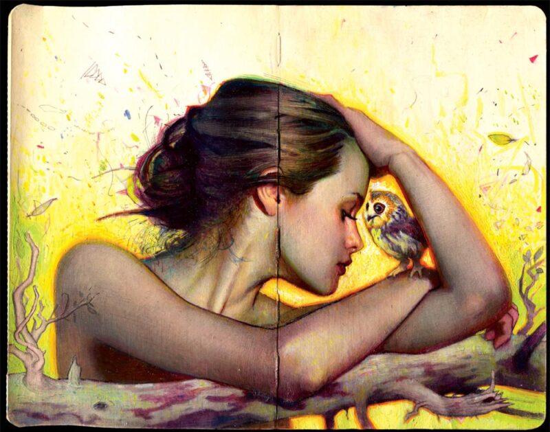 Rodrigo Luff Painting @ TheGallerist.art